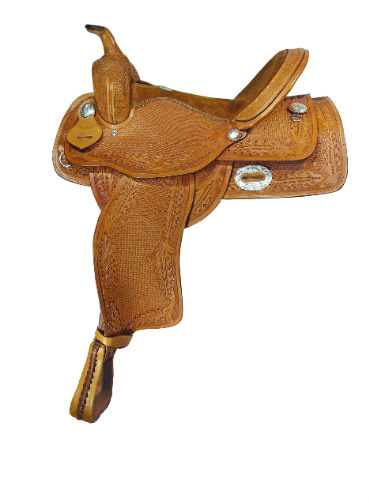 OAKLEAF & BASKET TOOLED PLEASURE SADDLE