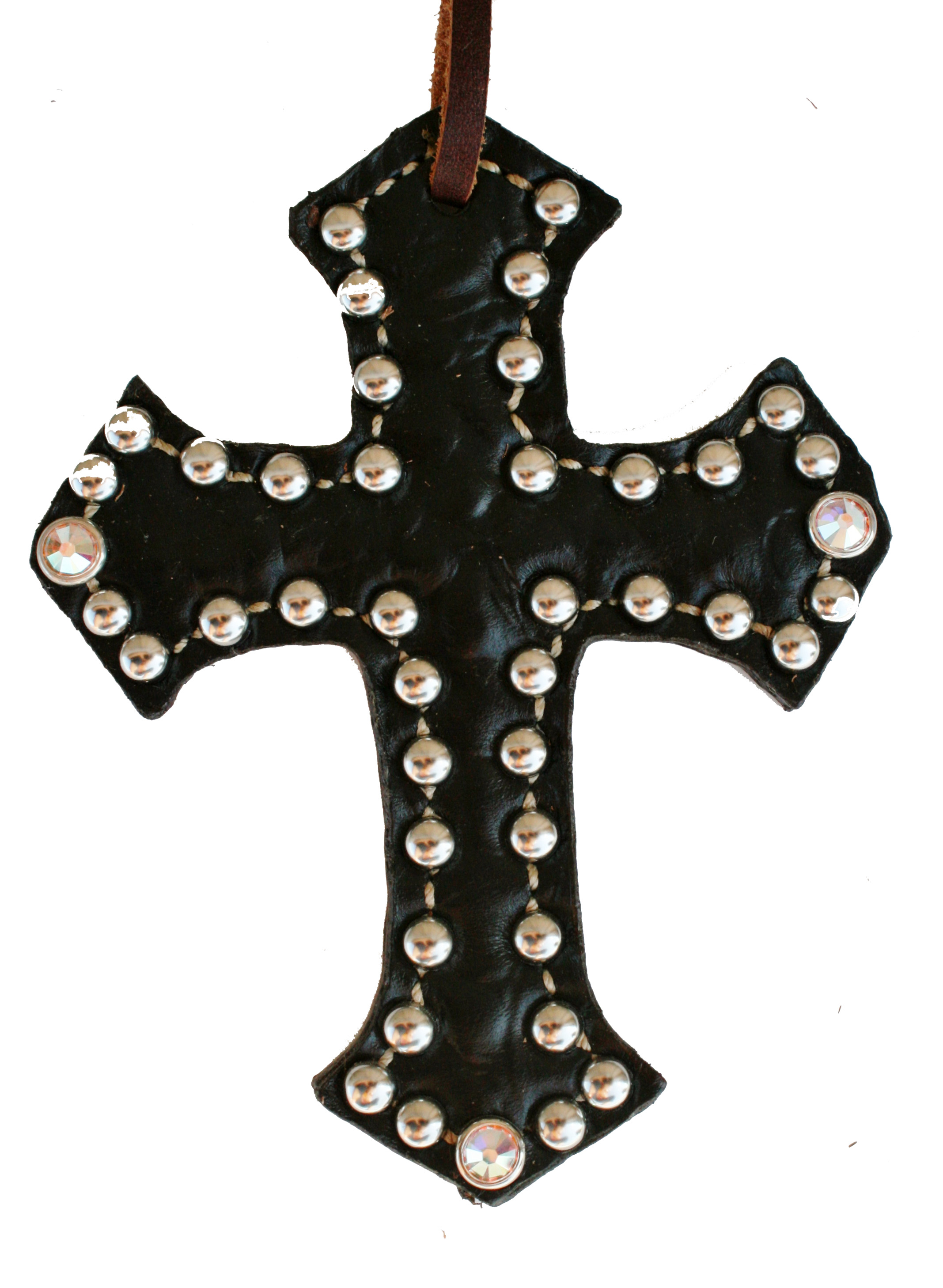 BLACK GATOR SADDLE CROSS