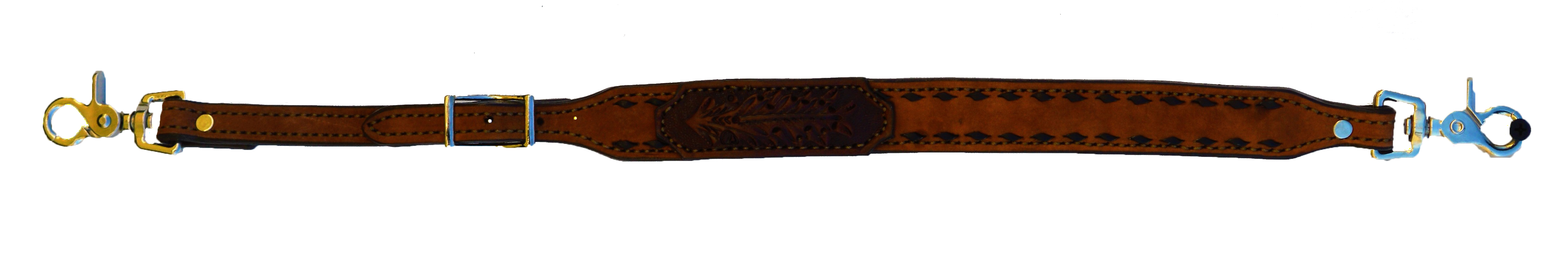 WITHER STRAP WITH TOOLED PATCH