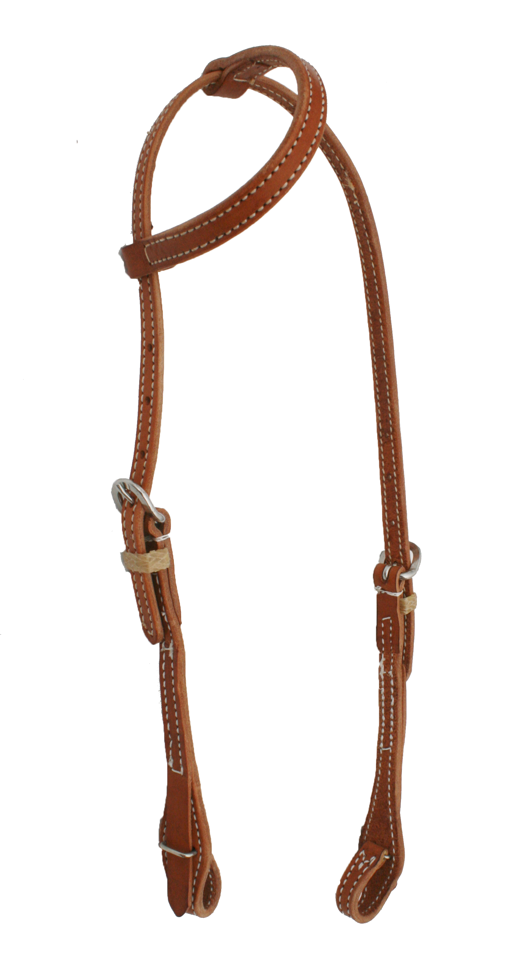 ONE EAR HERMAN OAK HARNESS HEADSTALL