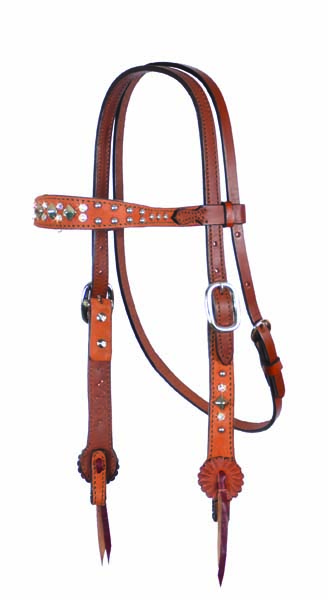 HEADSTALL OLD TIMER, ROUGH OUT