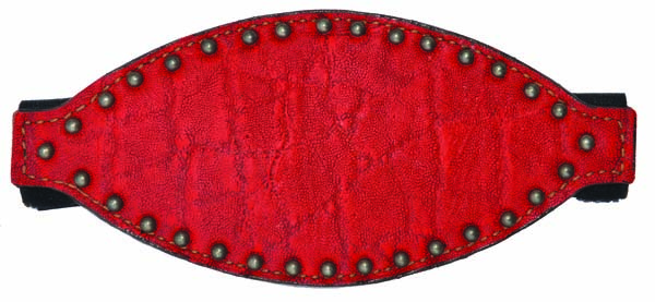 BRONC NOSE w RED ELEPHANT OVERLAY