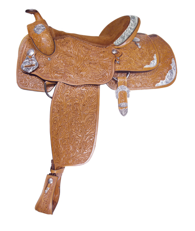 ACORN TOOLED SHOW SADDLE