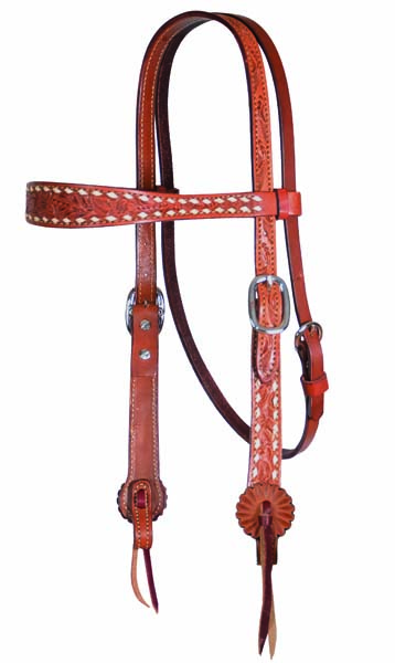 HEADSTALL OLD TIMER, AA TOOLING, BUCKSTITCH