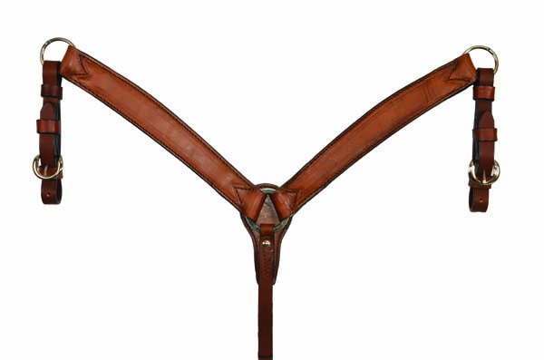 3723-TO PONY BREASTCOLLAR CARAMEL TOAST