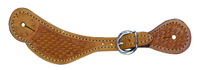 382-K LADIES SPUR STRAP w BASKET TOOLING