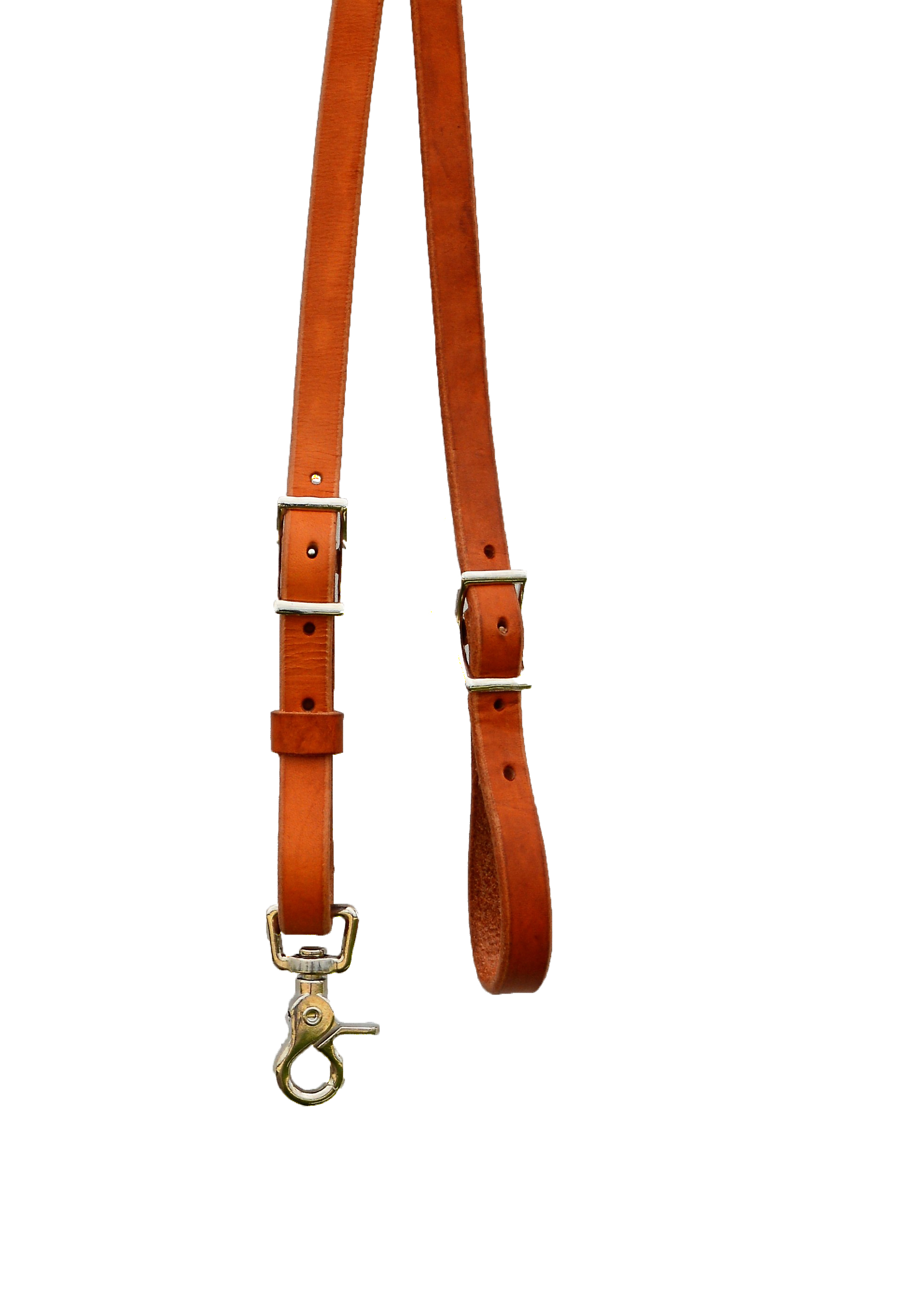 790-HL HARNESS LEATHER ROPING REINS