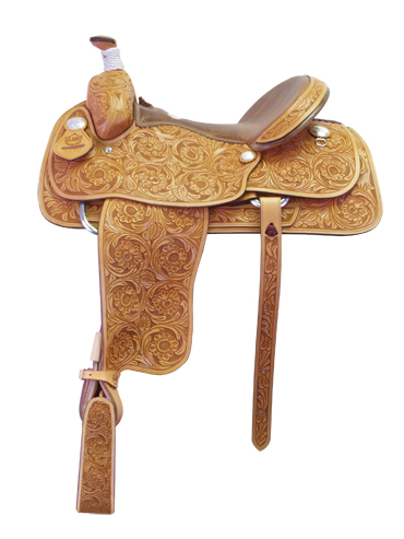 Fully Floral Tooled Roper