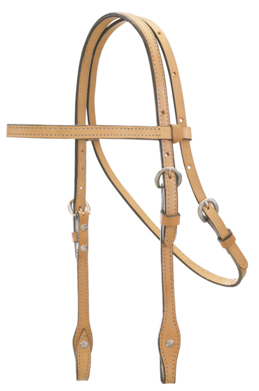 RUSSET BROWBAND HEADSTALL