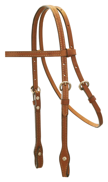 2015-T TOAST BROWBAND HEADSTALL