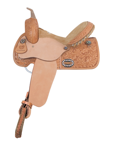 1274-COL-3M COLONIAL TOOLED BARREL RACER
