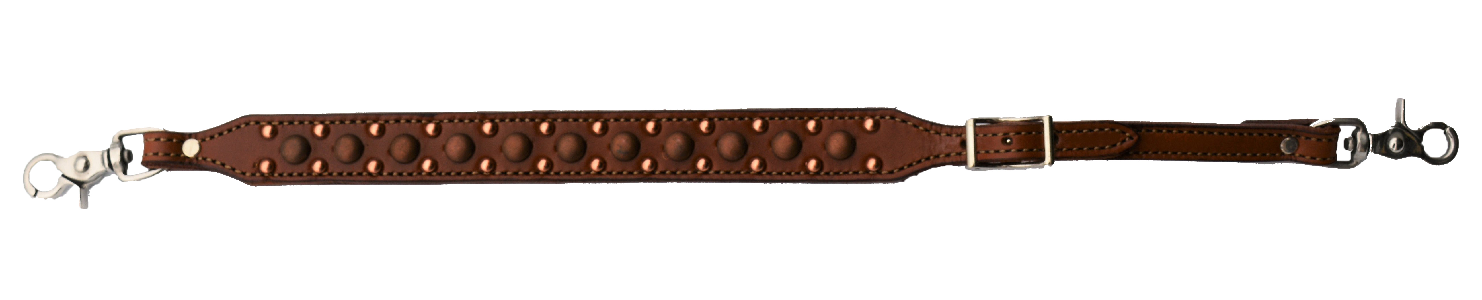 Toast Leather Wither Strap w/ Copper Spots