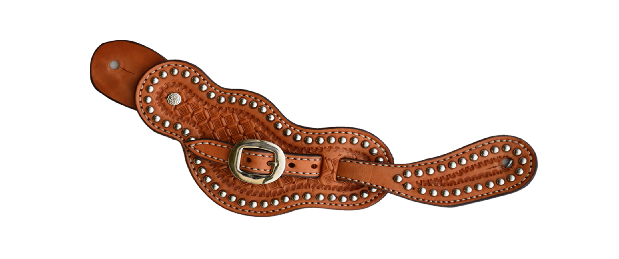Ladies Spur Strap w/ Button and ss spots