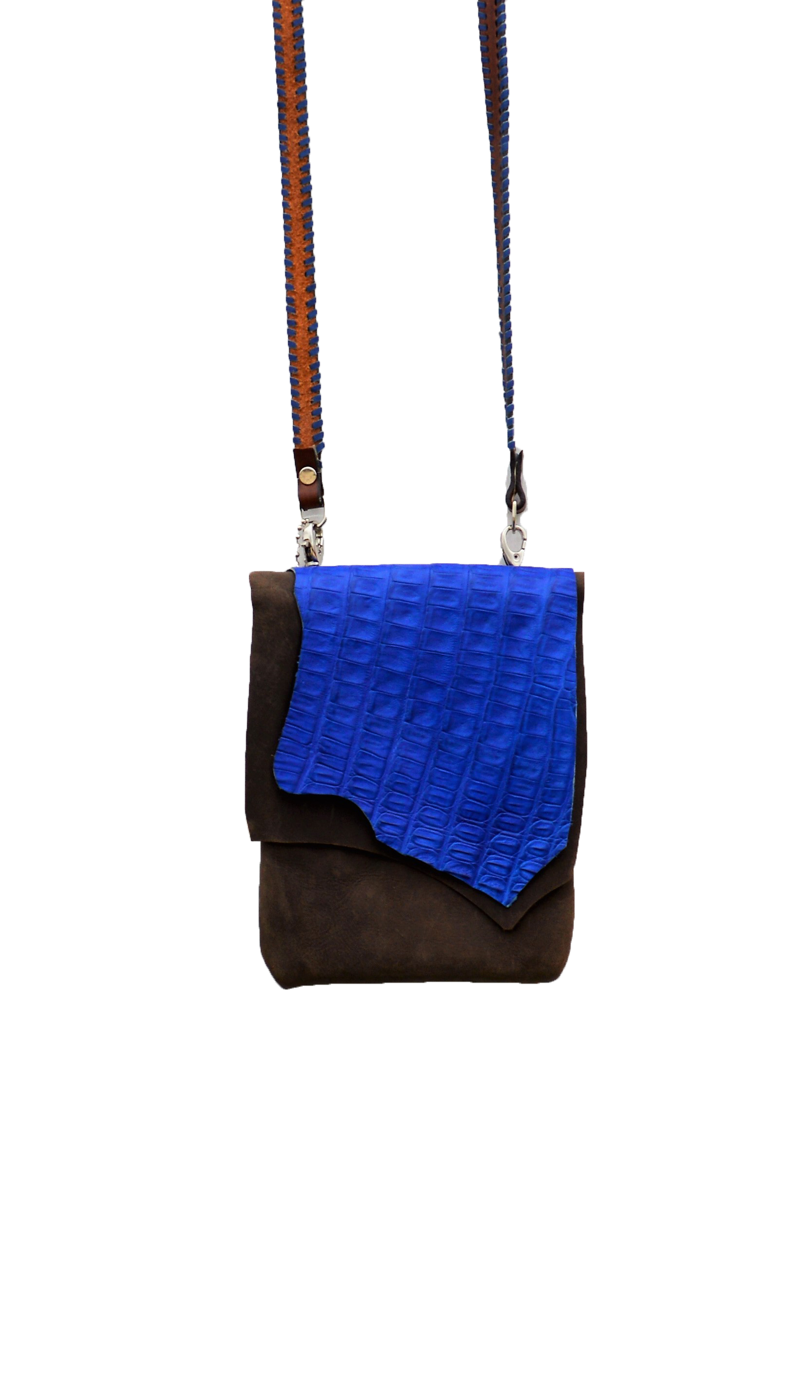 Blue Gator Purse